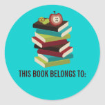 THIS BOOK BELONGS TO Stickers