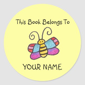 This Book Belongs To You! sticker