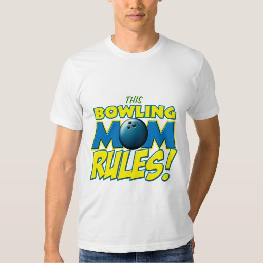 This Bowling Mom Rules copy.png T-shirt