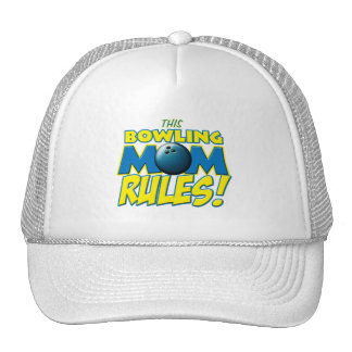 This Bowling Mom Rules copy.png Trucker Hat