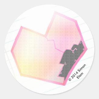 """This Broken Heart"" Sticker"