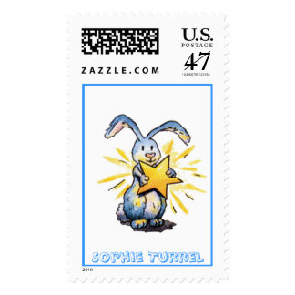 This Bunny is a Star!  by Sophie Turrel Postage
