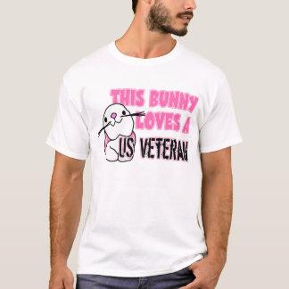 This Bunny Loves US Veteran T-Shirt