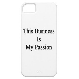 This Business Is My Passion iPhone SE/5/5s Case