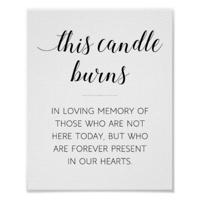 image relating to In Loving Memory Free Printable named This Candle Burns Within just Loving Memory Print