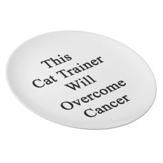 This Cat Trainer Will Overcome Cancer Dinner Plates