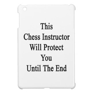 This Chess Instructor Will Protect You Until The E Case For The iPad Mini