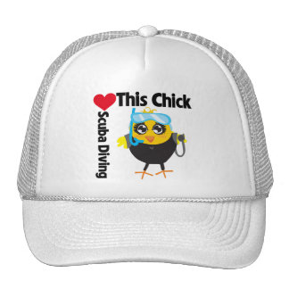 This Chick Loves Scuba Diving Trucker Hat