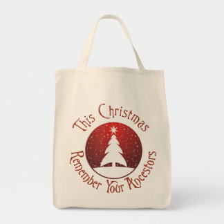 This Christmas Remember Your Ancestors Tote Bag