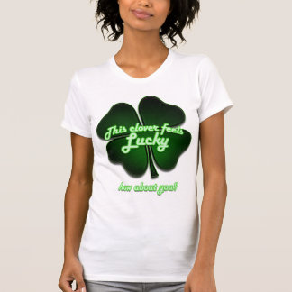 This clover feels lucky, how about you? shirt