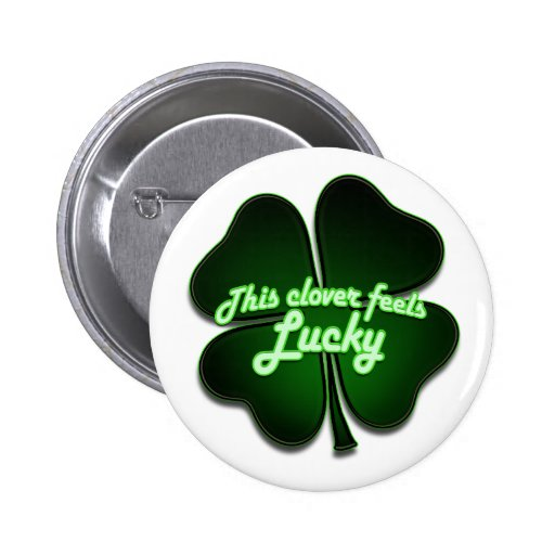 This clover feels lucky too pin