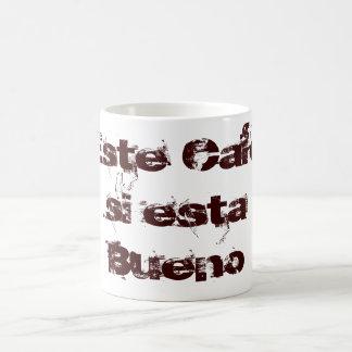 This Coffee if this Bueno Classic White Coffee Mug