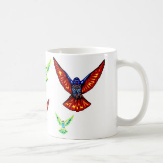 This coffee mug is for the birds.