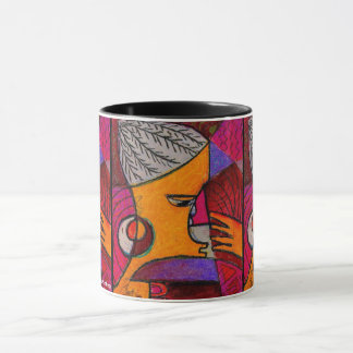 This collection is made up of my artwork, painting mug