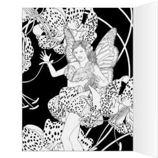This Coloring Card was made just for you by me!