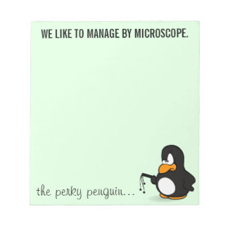 This company gives new meaning to micromanagement memo note pad
