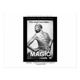 This could have been: Magic Postcard