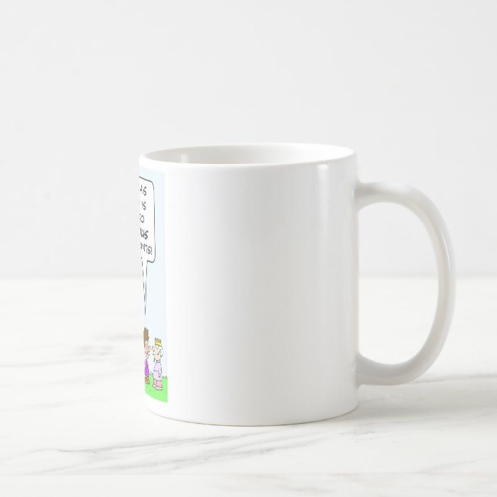This country is generous to immigrants. coffee mug