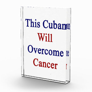 This Cuban Will Overcome Cancer Awards