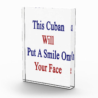 This Cuban Will Put A Smile On Your Face Award