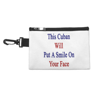 This Cuban Will Put A Smile On Your Face Accessories Bags