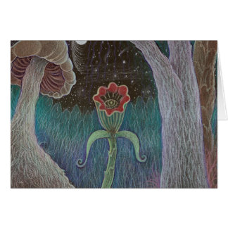 This Curious Night notecard Stationery Note Card