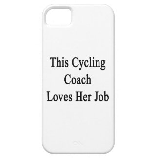 This Cycling Coach Loves Her Job iPhone 5 Covers
