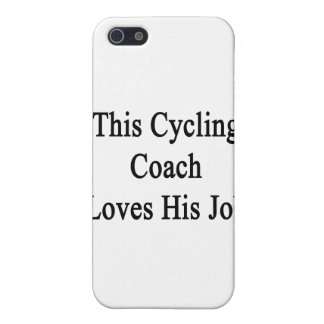 This Cycling Coach Loves His Job iPhone 5 Cases