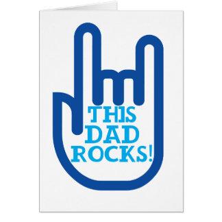 This Dad Rocks! Card