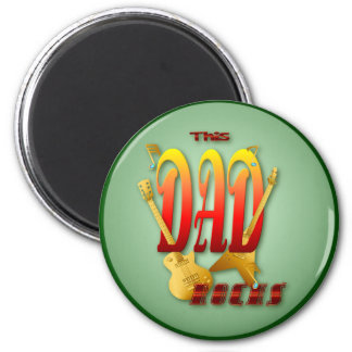 This Dad Rocks! Magnets