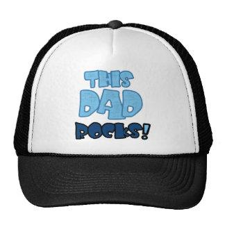 THIS DAD ROCKS TRUCKER HAT