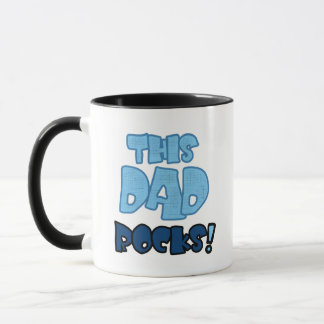 This Dad Rocks Tshirts and Gifts Mug