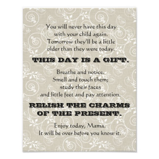 This Day is a Gift Print Photo