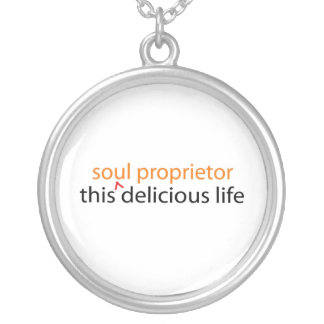 this delicious life necklace