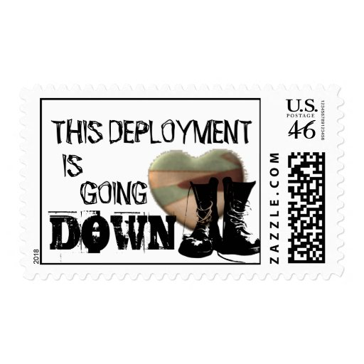 This Deployment Is Going Down Stamp