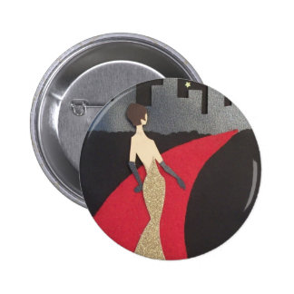 This design will always make you feel glamorous pinback buttons