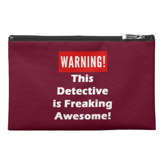This Detective is Freaking Awesome! Travel Accessory Bag