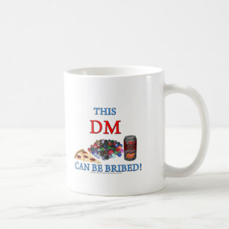 This DM Can Be Bribed Coffee Mugs