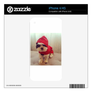 This dog hates rain skin for iPhone 4S