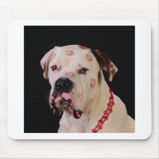 This dog is loved mouse mat