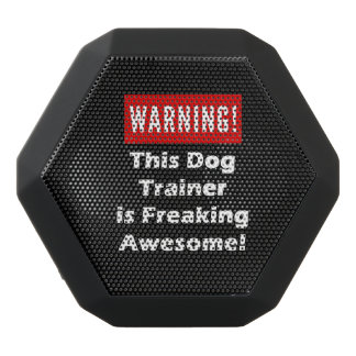 This Dog Trainer is Freaking Awesome! Black Bluetooth Speaker