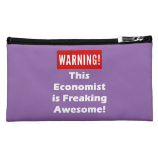 This Economist is Freaking Awesome! Cosmetic Bag