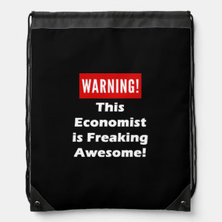 This Economist is Freaking Awesome! Drawstring Bag