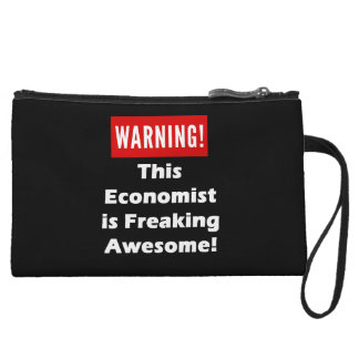 This Economist is Freaking Awesome! Wristlet Wallet
