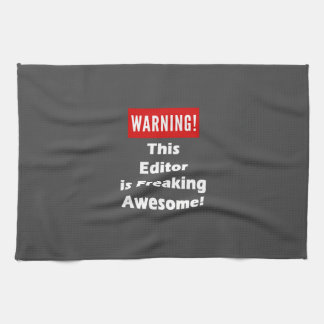 This Editor is Freaking Awesome! Kitchen Towels