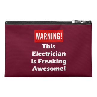 This Electrician is Freaking Awesome! Travel Accessory Bag