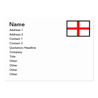 This England Large Business Cards (Pack Of 100)