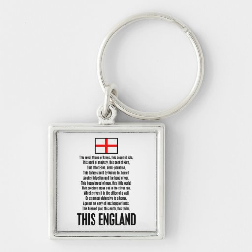 This England Keychains