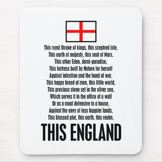 This England Mouse Pad