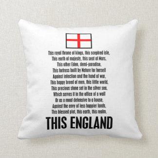 This England Throw Pillows